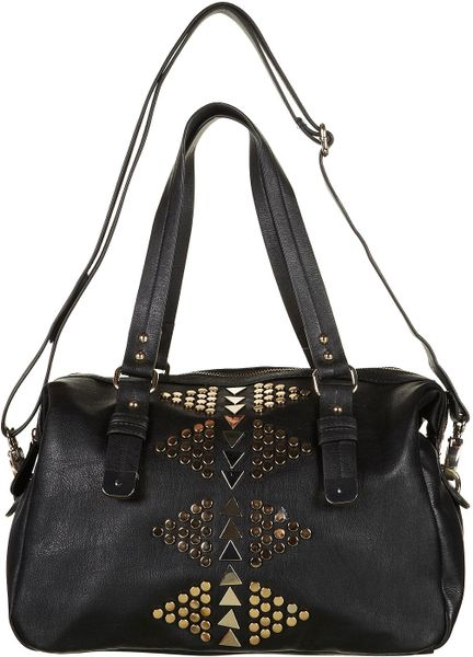 f754a9157231 Black Studded Bag Topshop | Stanford Center for Opportunity Policy ...