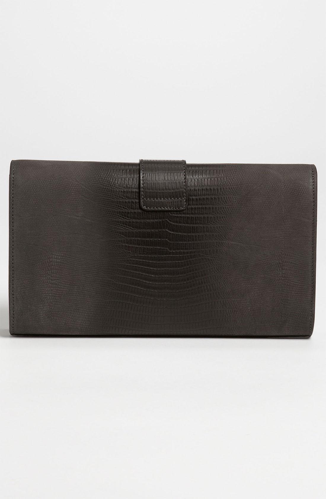 yves saint laurent bags uk - yves saint laurent lizard leather shoulder clutch, east st laurent ...