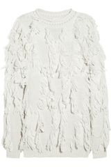 3.1 Phillip Lim Fringed Woolblend Sweater - Lyst