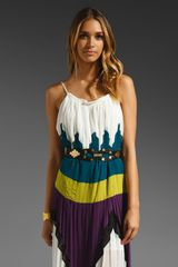 BCBGMAXAZRIA Long Runway Dress - Lyst