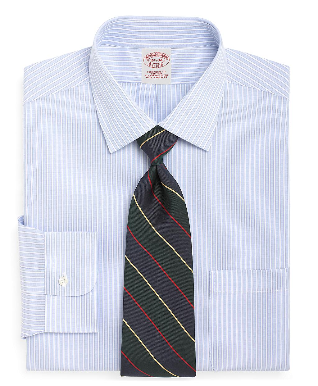 Brooks brothers supima cotton noniron slim fit endonend for Brooks brothers non iron shirt review