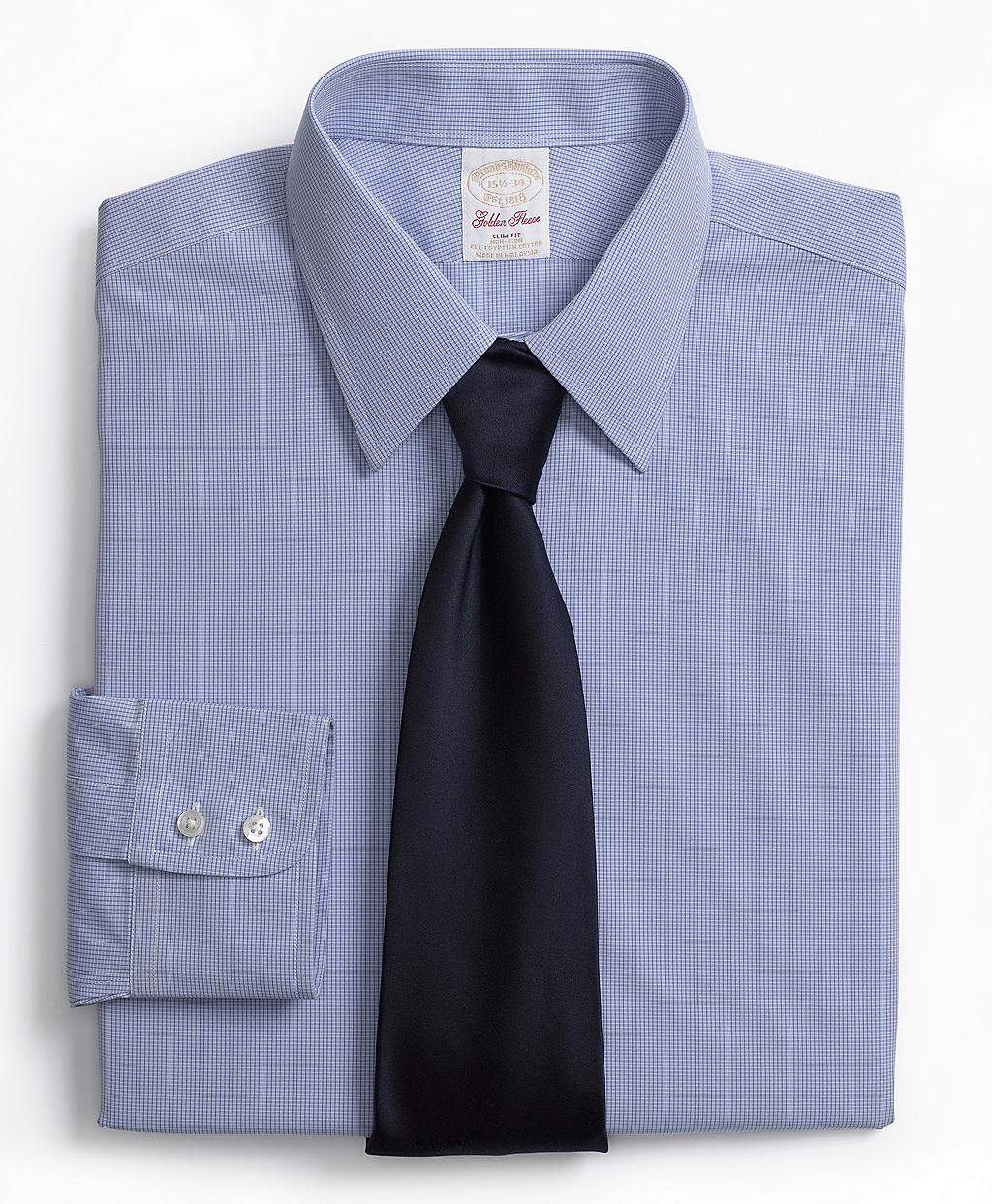 Brooks brothers golden fleece non iron regent fit mini for Brooks brothers dress shirt fit