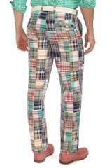 Brooks Brothers Clark Plainfront Patchwork Madras Pants in Multicolor for Men (patchwork multi) - Lyst