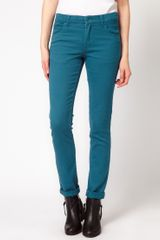 Cheap Monday Tight Coloured Skinny Jeans - Lyst