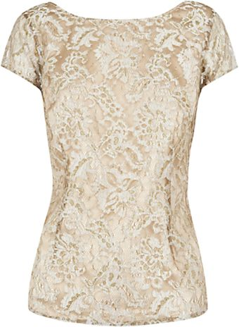 Coast Chrissie Lace Top  - Lyst
