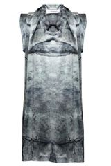 Hussein Chalayan Scarf Neck Dress Print - Lyst
