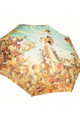 Jean Paul Gaultier Cherub Folding Umbrella