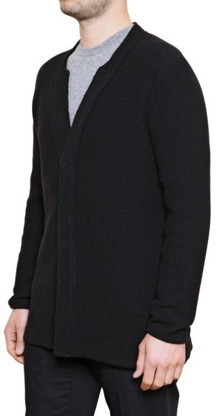 Laura G Knitted Wool Jacket - Lyst