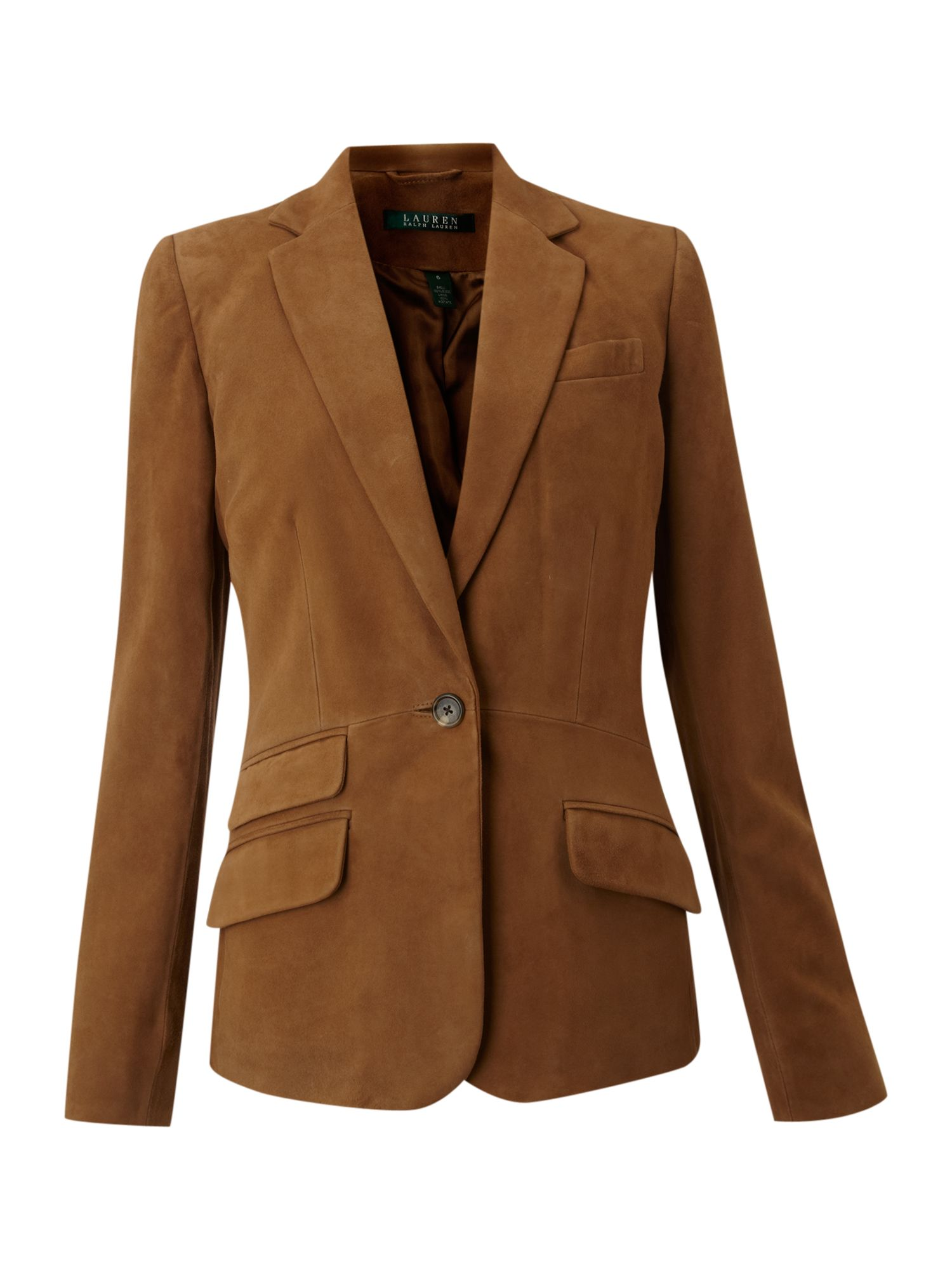 Suede Jacket Outfits For Men 20 Ways To Wear A Suede Jacket: Lauren By Ralph Lauren Valerine Suede Jacket In Brown
