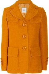 Moschino Cheap & Chic Bouclé Wool Coat - Lyst