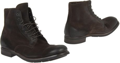 Prada Ankle Boots in Brown for Men - Lyst
