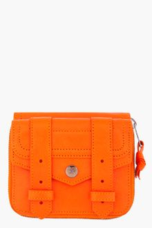 Proenza Schouler Ps1 Small Orange Zip Wallet - Lyst