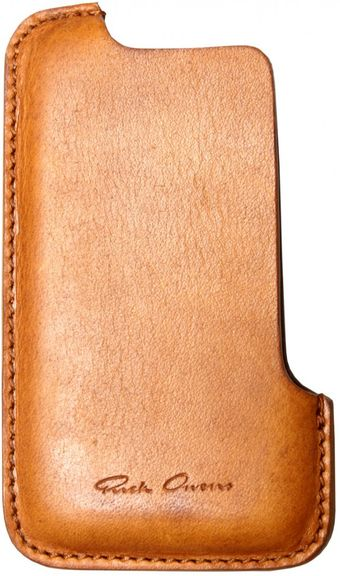 Rick Owens Iphone Holder Tan - Lyst