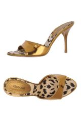 Roberto Cavalli Highheeled Sandals - Lyst