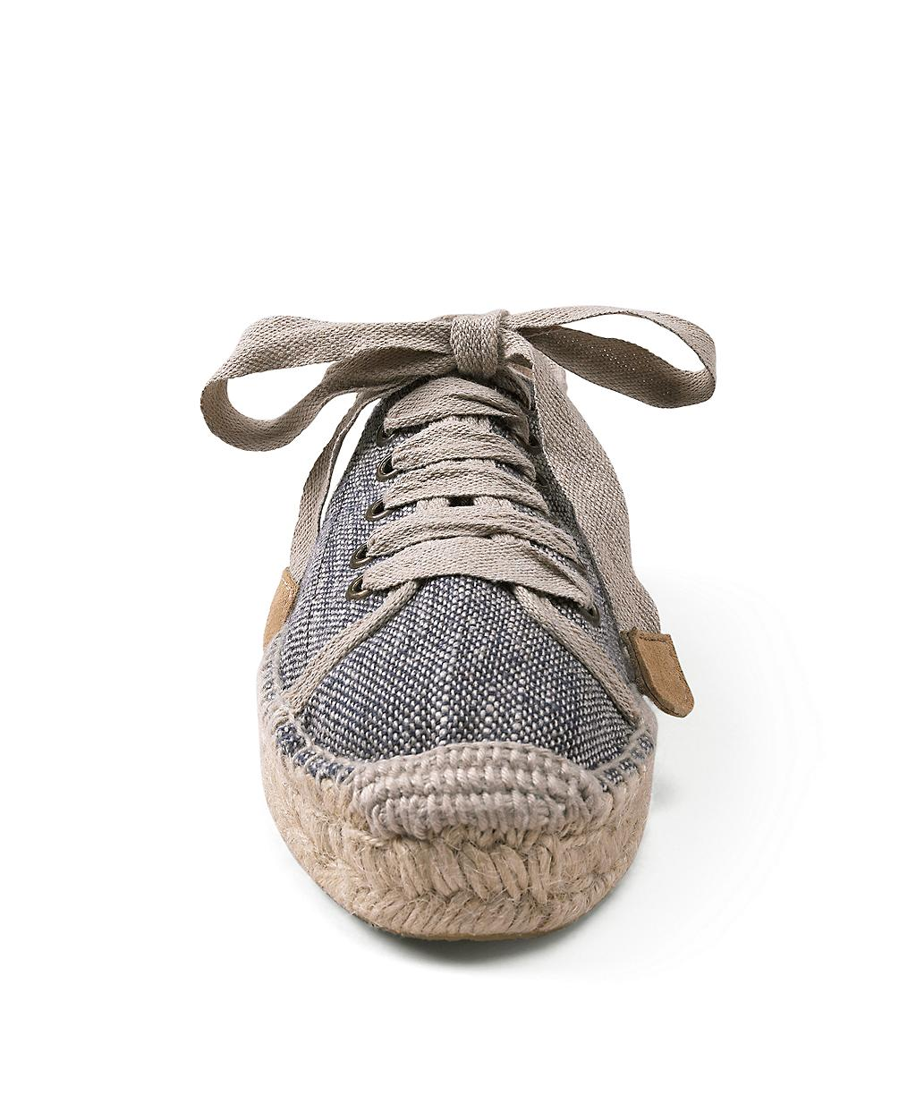 Brooks Brothers Canvas Sneaker Espadrille In Blue Lyst