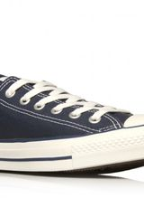 Converse All Star Low in Blue for Men (navy) - Lyst