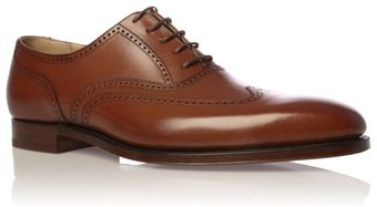 Crockett & Jones Drummond Wingcap - Lyst
