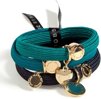 Marc By Marc Jacobs Golden and Blue Classic Marc Cluster Pony Elastics - Lyst