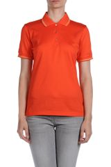 Missoni Polo Shirt in Red (turquoise) - Lyst