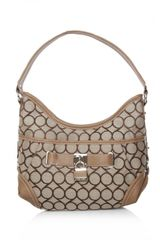 Nine West 9 Jacquard Hobo Sml - Lyst
