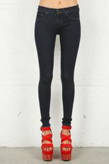 Rag & Bone Brixton Legging in Blue in Blue - Lyst