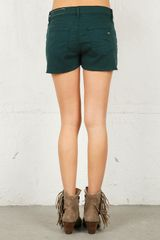 Rag & Bone Cut Off Short in Blue - Lyst