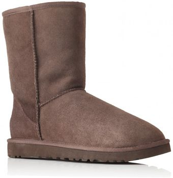 Ugg Short Chocolate - Lyst
