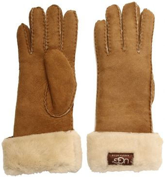 Ugg Turn Cuff Glove - Lyst