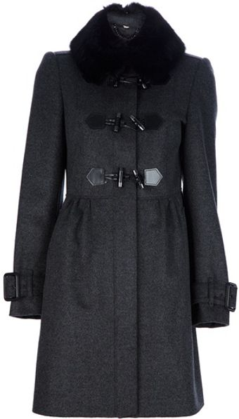 Burberry Roseland Coat - Lyst