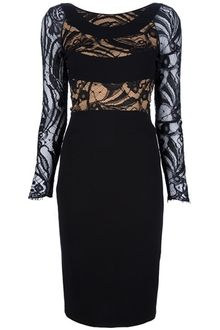 Emilio Pucci Lace Panel Dress - Lyst