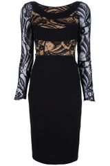 Emilio Pucci Lace Panel Dress