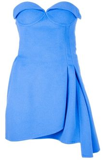 Ermanno Scervino Strapless Dress - Lyst