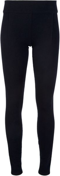 Helmut Lang Stretch Legging in Black - Lyst