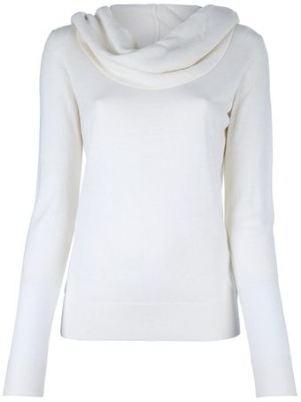 Michael Kors Cowl Neck Jumper - Lyst