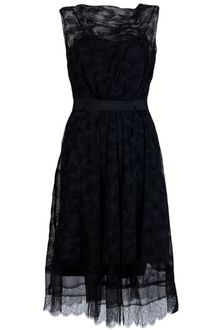 Lace Black Dress on Nina Ricci Lace   Radzimir Dress In Black   Lyst