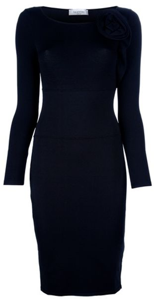 Valentino Pencil Dress - Lyst