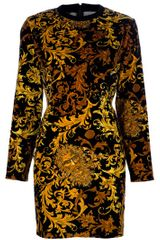 Versace Vintage Pattern Dress - Lyst