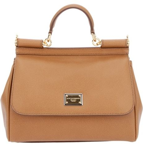 Dolce & Gabbana Classic Shoulder Bag in Brown - Lyst