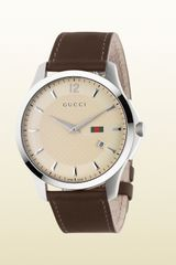Gucci Gtimeless Collection Slim Version in Silver for Men (steel) - Lyst
