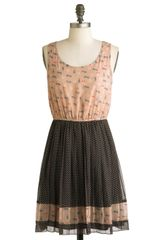 ModCloth Cat Long Last Dress - Lyst