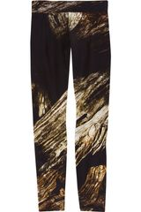 Helmut Lang Drift Legging in Brown (bronze) - Lyst