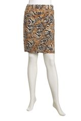 Muse Snakeprint Jersey Skirt - Lyst