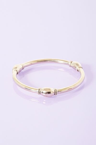 Nasty Gal Roma Bangle in Gold - Lyst