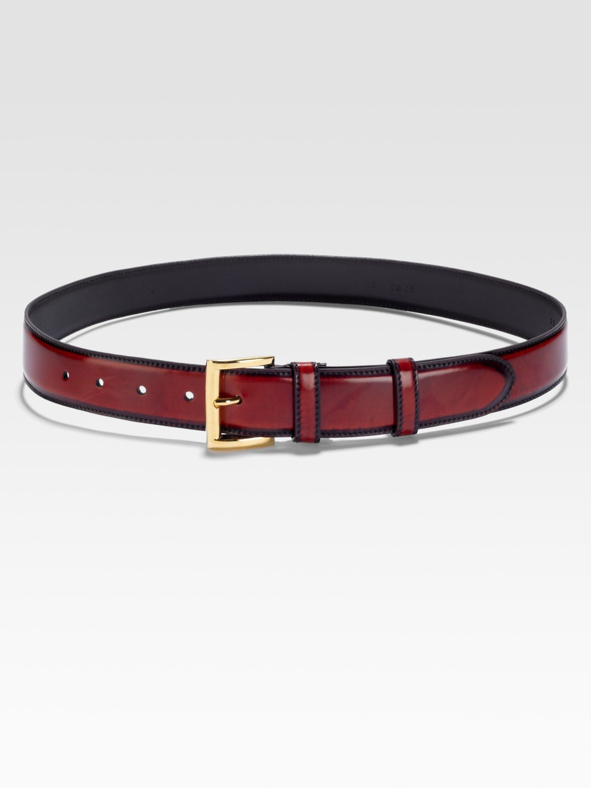 prada purple belt