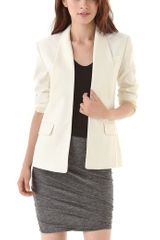 Alexander Wang Chintzed Wool Smoking Blazer - Lyst