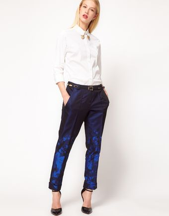 ASOS Collection  Premium Trousers in Ombre Print - Lyst