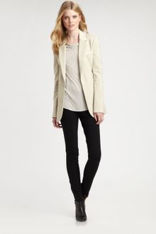 Elizabeth And James Leathertrim Rex Blazer - Lyst