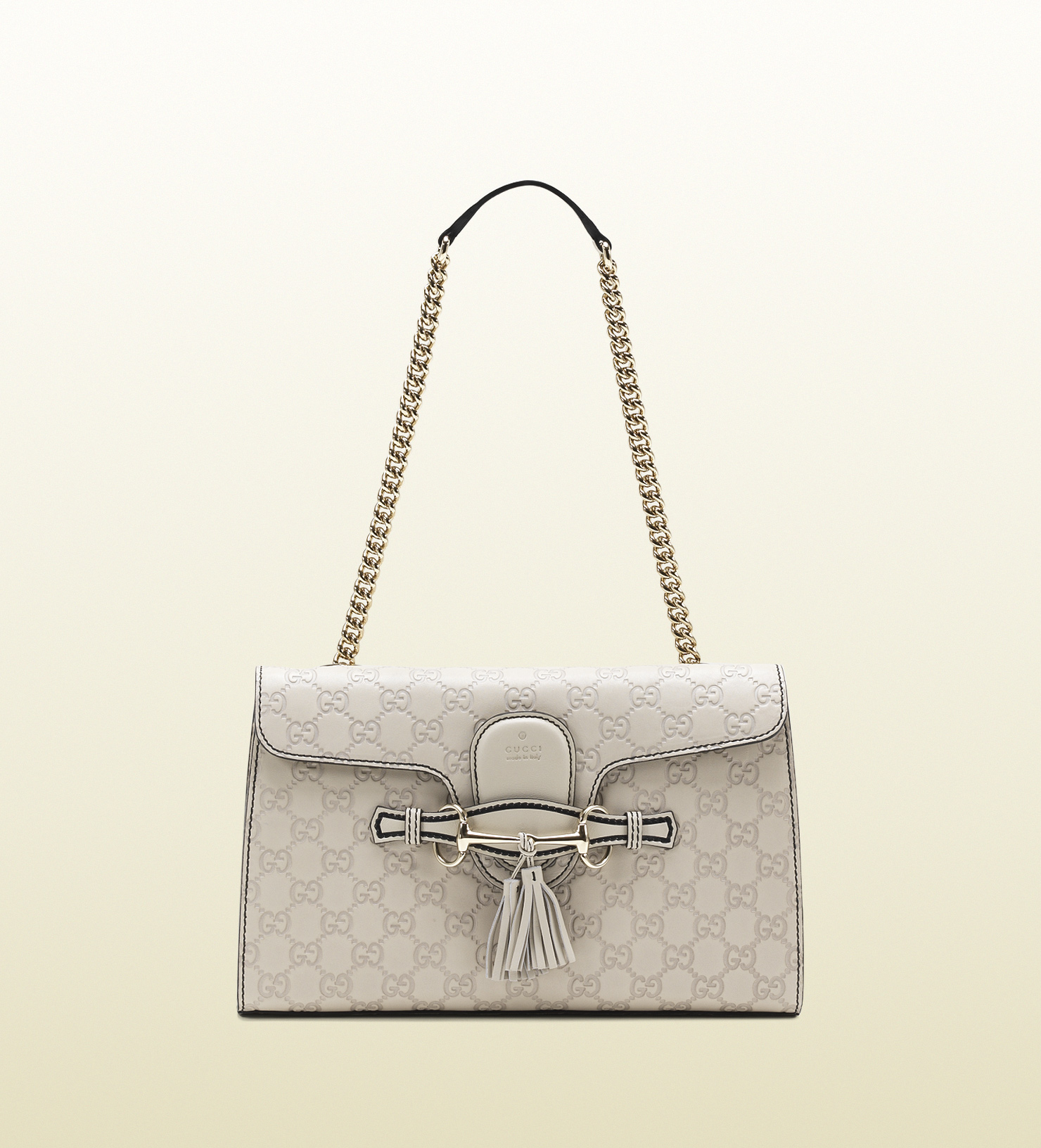 47e65cbbaa72 Gucci Emily White Handbag | Stanford Center for Opportunity Policy ...