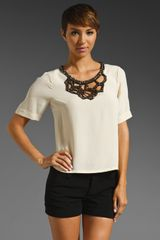 Plenty By Tracy Reese Embellished T - Lyst