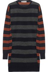 Stella McCartney Knitted Silk And Wool Blend Sweater Dress - Lyst